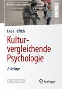 Cover-Bild zu Kulturvergleichende Psychologie von Helfrich, Hede