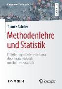 Cover-Bild zu Methodenlehre und Statistik von Schäfer, Thomas