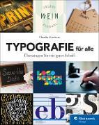 Cover-Bild zu Typografie für alle (eBook) von Korthaus, Claudia