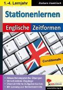 Cover-Bild zu Kohls Stationenlernen Englische Zeitformen 6 (eBook) von Hamblock, Barbara