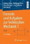 Cover-Bild zu Formeln und Aufgaben zur Technischen Mechanik 1 (eBook) von Gross, Dietmar