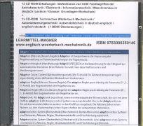 Cover-Bild zu Englisch Wörterbuch Mechatronik