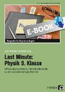 Cover-Bild zu Last Minute: Physik 9. Klasse (eBook) von Schmidt, Carolin