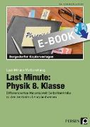 Cover-Bild zu Last Minute: Physik 8. Klasse (eBook) von Schmidt, Carolin