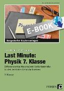 Cover-Bild zu Last Minute: Physik 7. Klasse (eBook) von Schmidt, Carolin