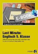Cover-Bild zu Last Minute: Englisch 5. Klasse (eBook) von Geck, Carina