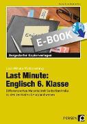Cover-Bild zu Last Minute: Englisch 6. Klasse (eBook) von Geck, Carina
