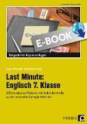 Cover-Bild zu Last Minute: Englisch 7. Klasse (eBook) von Geck, Carina