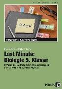 Cover-Bild zu Last Minute: Biologie 5. Klasse von Dziomba, Rebecca