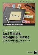 Cover-Bild zu Last Minute: Biologie 6. Klasse von Dziomba, Rebecca