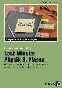 Cover-Bild zu Last Minute: Physik 8. Klasse von Schmidt, Carolin