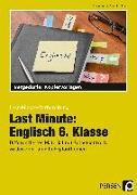 Cover-Bild zu Last Minute: Englisch 6. Klasse von Geck, Carina
