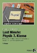 Cover-Bild zu Last Minute: Physik 7. Klasse von Schmidt, Carolin
