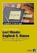 Cover-Bild zu Last Minute: Englisch 5. Klasse von Geck, Carina