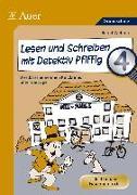 Cover-Bild zu Lesen und Schreiben mit Detektiv Pfiffig, Klasse 4 von Wehren, Bernd