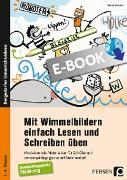 Cover-Bild zu Mit Wimmelbildern einfach Lesen und Schreiben üben (eBook) von Wehren, Bernd