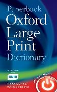 Cover-Bild zu Paperback Oxford Large Print Dictionary von Oxford Languages