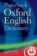 Cover-Bild zu Paperback Oxford English Dictionary von Oxford Languages