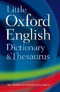 Cover-Bild zu Little Oxford Dictionary and Thesaurus von Oxford Languages