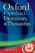 Cover-Bild zu Oxford Paperback Dictionary & Thesaurus von Oxford Languages