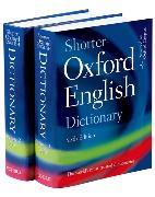 Cover-Bild zu Shorter Oxford English Dictionary von Oxford Languages