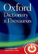 Cover-Bild zu Oxford Dictionary and Thesaurus von Oxford Languages