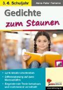 Cover-Bild zu Gedichte zum Staunen (eBook) von Tiemann, Hans-Peter