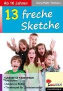 Cover-Bild zu 13 freche Sketche (eBook) von Tiemann, Hans-Peter