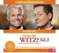 Cover-Bild zu Hirschhausen, Eckart von: Ist das ein Witz? Kommt ein Entertainer zum Arzt