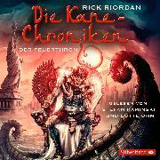 Cover-Bild zu Riordan, Rick: Die Kane-Chroniken, Der Feuerthron