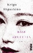 Cover-Bild zu Higashino, Keigo: Böse Absichten