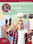 Cover-Bild zu Gieth, Hans-Jürgen van der: Leselauscher Wissen: Politik und Demokratie (inkl. CD)