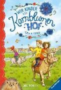 Cover-Bild zu Fröhlich, Anja: Wir Kinder vom Kornblumenhof, Band 3: Kühe im Galopp