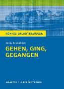 Cover-Bild zu Hasenbach, Sabine: Gehen, ging, gegangen. Königs Erläuterungen (eBook)