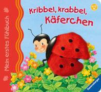 Cover-Bild zu Grimm, Sandra: Mein erstes Fühlbuch: Kribbel, krabbel, Käferchen
