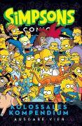 Cover-Bild zu Groening, Matt: Simpsons Comics Kolossales Kompendium