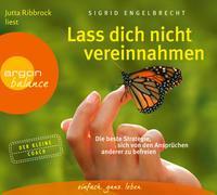 Cover-Bild zu Engelbrecht, Sigrid: Lass dich nicht vereinnahmen