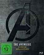 Cover-Bild zu Russo, Anthony (Reg.): The Avengers 1-4