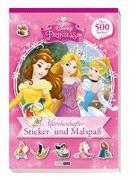 Cover-Bild zu Hoffart, Nicole (Chefred.): Disney Prinzessin: Märchenhafter Sticker- und Malspaß