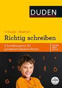 Cover-Bild zu Holzwarth-Raether, Ulrike: Wissen - Üben - Testen: Deutsch - Richtig schreiben 4. Klasse