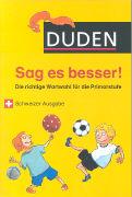 Cover-Bild zu Holzwarth-Raether, Ulrike: Duden - Sag es besser!