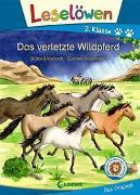 Cover-Bild zu Stütze & Vorbach: Leselöwen 2. Klasse - Das verletzte Wildpferd