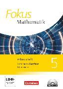 Cover-Bild zu Fokus Mathematik, Nordrhein-Westfalen - Ausgabe 2013, 5. Schuljahr, Arbeitsheft mit Lösungen und CD-ROM
