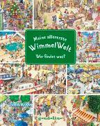 Cover-Bild zu gondolino Wimmelbücher (Hrsg.): Meine allererste WimmelWelt - Wer findet was?