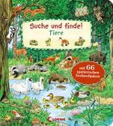 Cover-Bild zu Loewe Meine allerersten Bücher (Hrsg.): Suche und finde! - Tiere