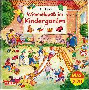 Cover-Bild zu Leiber, Lila L.: Maxi Pixi 296: VE 5: Wimmelspaß im Kindergarten (5x1 Exemplar)