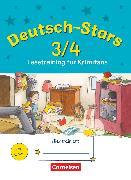 Cover-Bild zu Deutsch-Stars, Allgemeine Ausgabe, 3./4. Schuljahr, Lesetraining für Krimifans, Übungsheft, Mit Lösungen von Scholtes, Cornelia