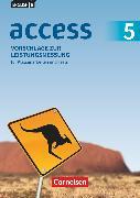 Cover-Bild zu English G Access, Allgemeine Ausgabe, Band 5: 9. Schuljahr, Vorschläge zur Leistungsmessung, Für Klassenarbeiten und Tests, CD-Extra, CD-ROM und CD auf einem Datenträger