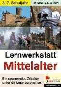 Cover-Bild zu Lernwerkstatt - Mit dem Fahrstuhl ins Mittelalter