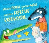 Cover-Bild zu Smallman, Steve: Kleines Schaf, großer Wolf und das freche Krokodil
